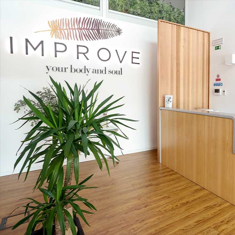 Imagem para website da clinica improve