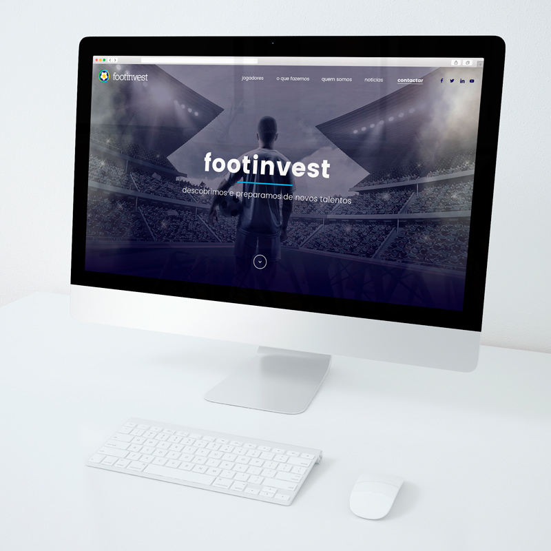 website para footinvest