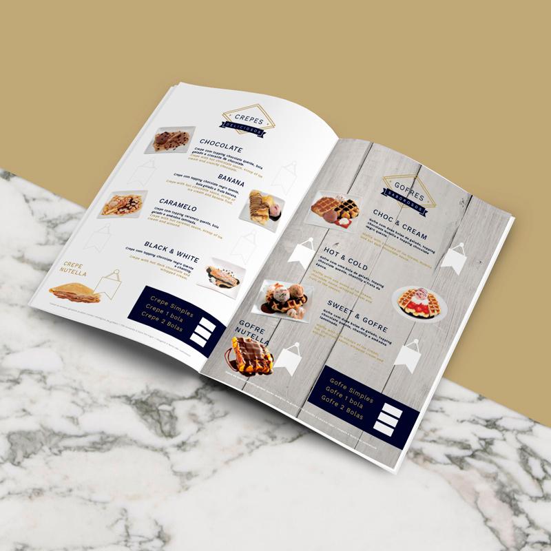 branding for ice flavours / farggi