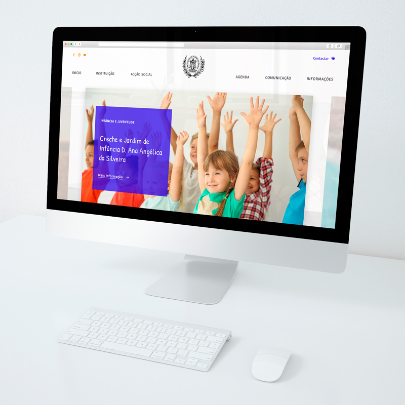 website para Misericordia de Borba