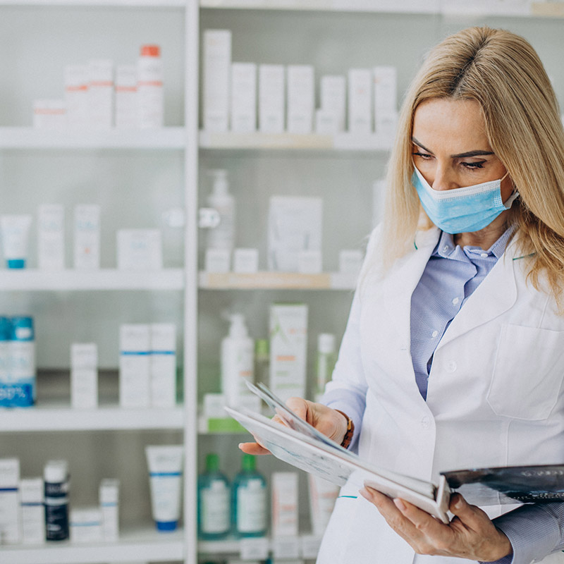 image for the pharmacie la gare website