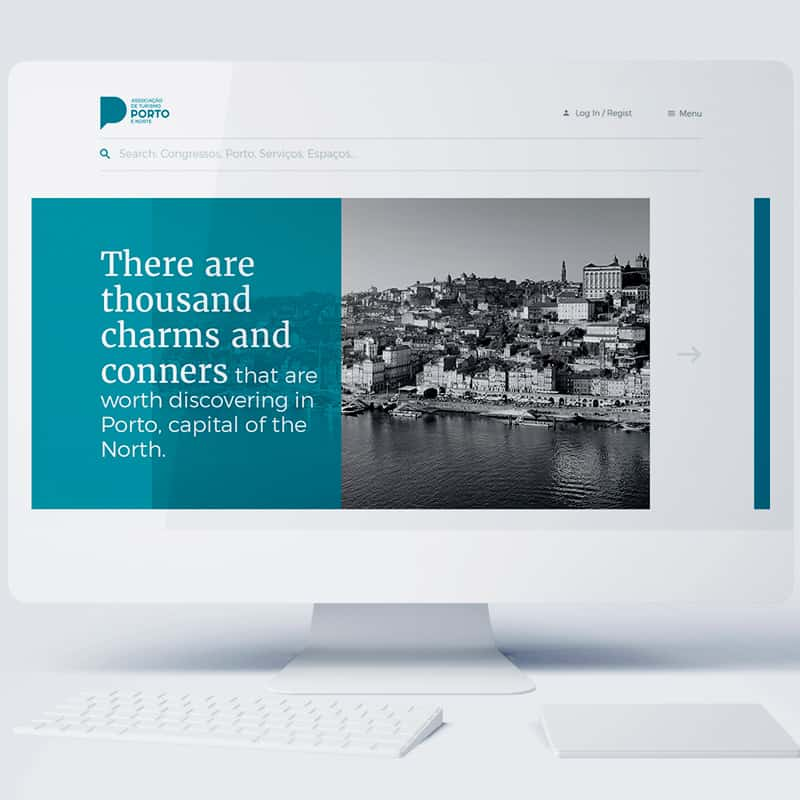 website developed for porto convention burreau