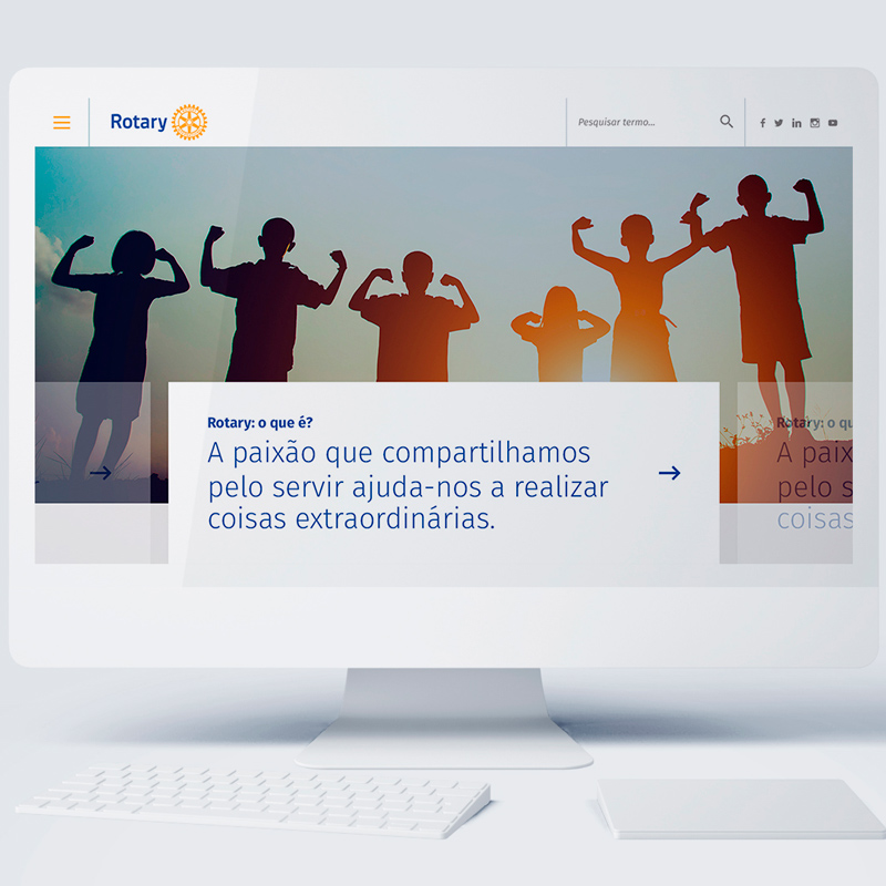 website para Portugal Rotario