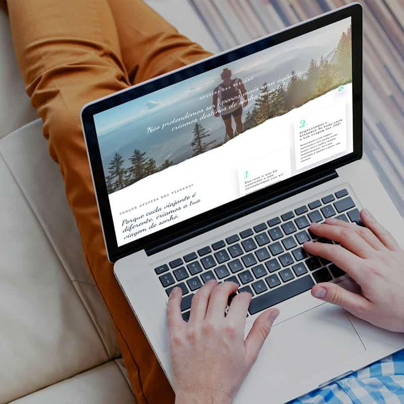 website for Rota dos Exploradores