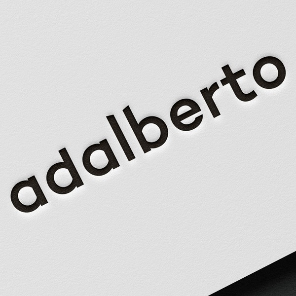 logotipo da adalberto
