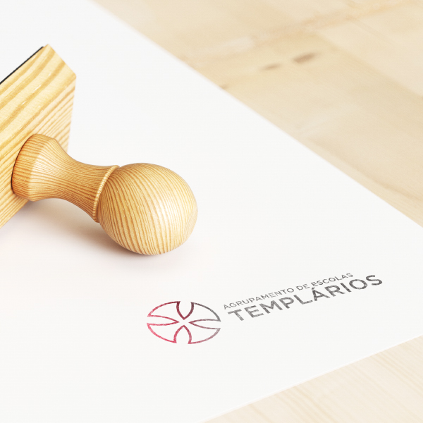 branding and website para Agrup. Escolas Templarios