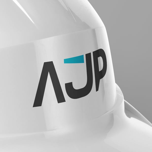 logotipo da ajp construction