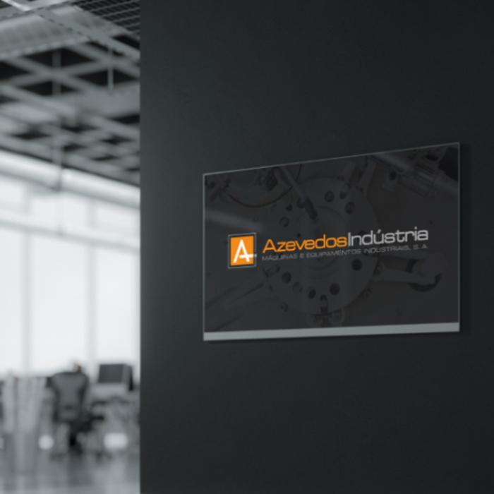 website developed for Azevedos Industria