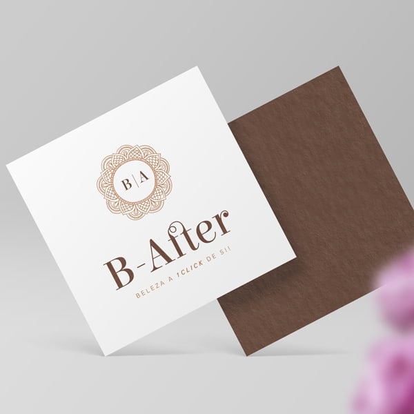 logotipo do b-after