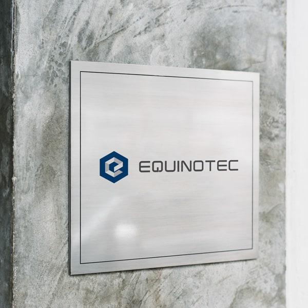 logotipo da equinotec