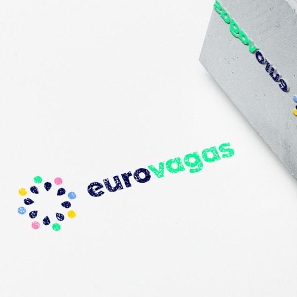 logotipo da eurovagas