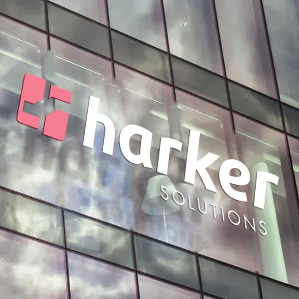 logotipo da harker solutions