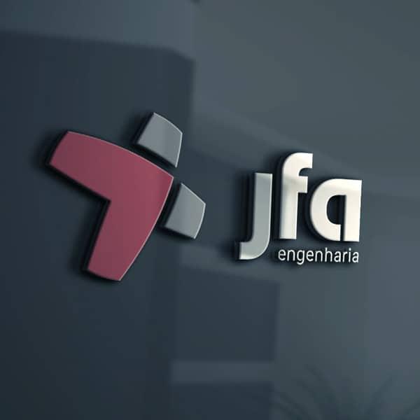 logotipo da jfa engenharia