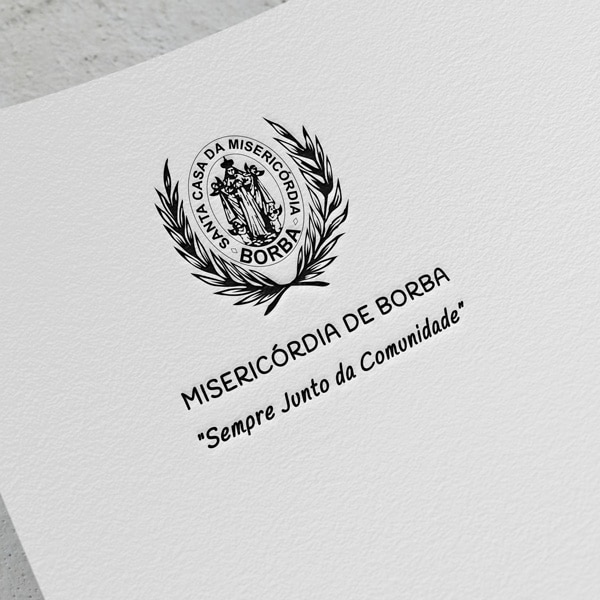 logotipo da misericordia de borba