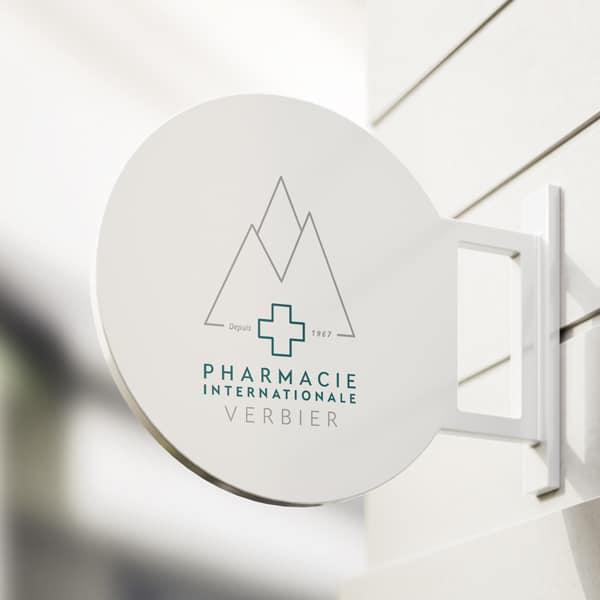 logotipo da Pharmcie Verbier