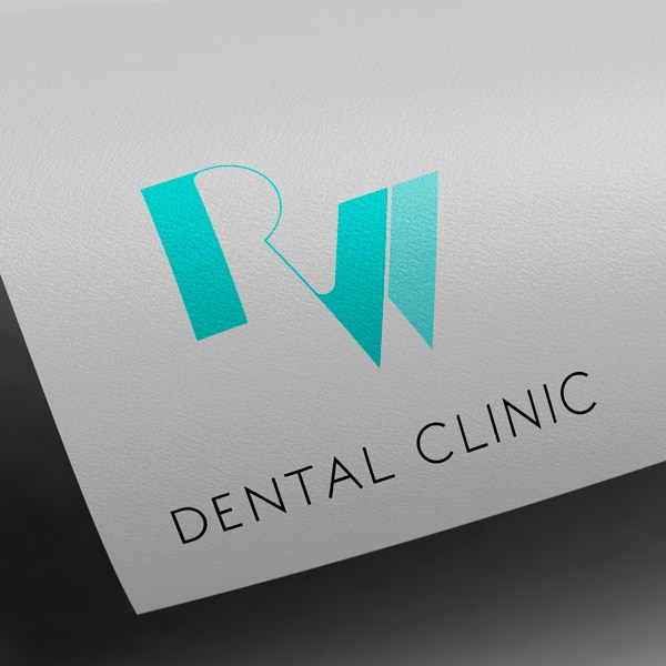 logotipo da rw dental clinic