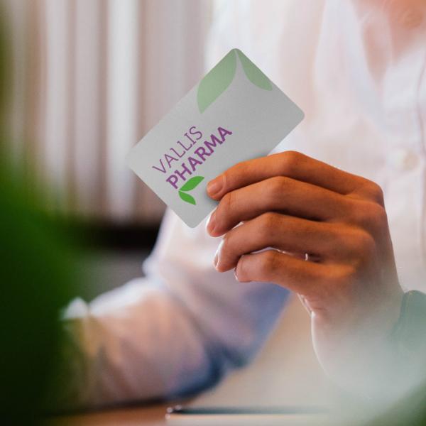 Online store developed for Vallis Pharma