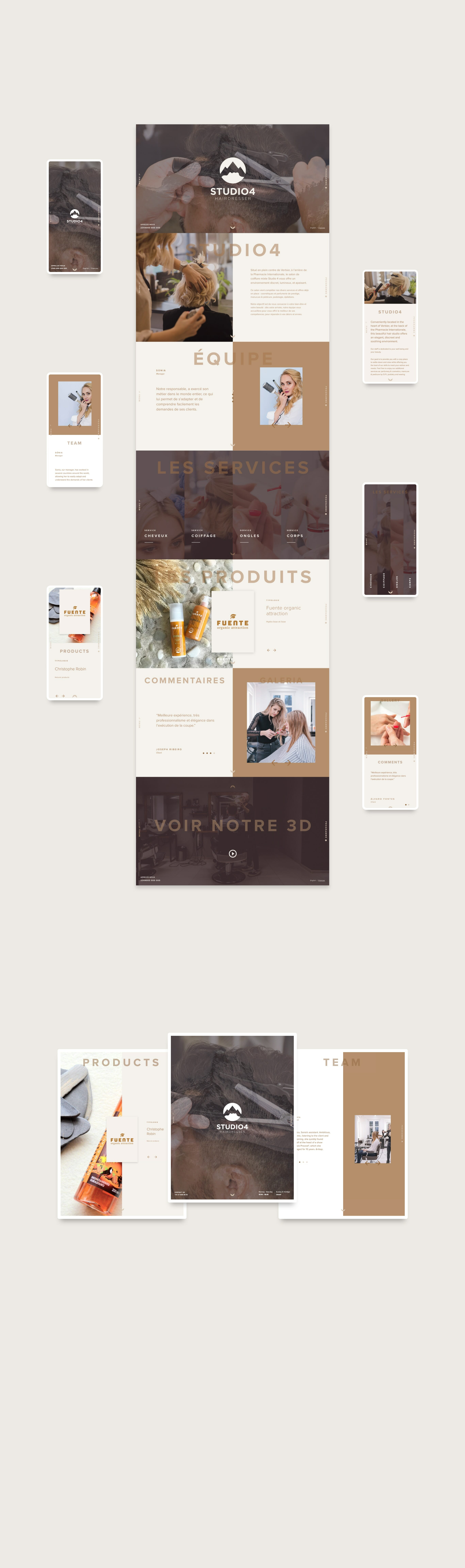 layouts for website