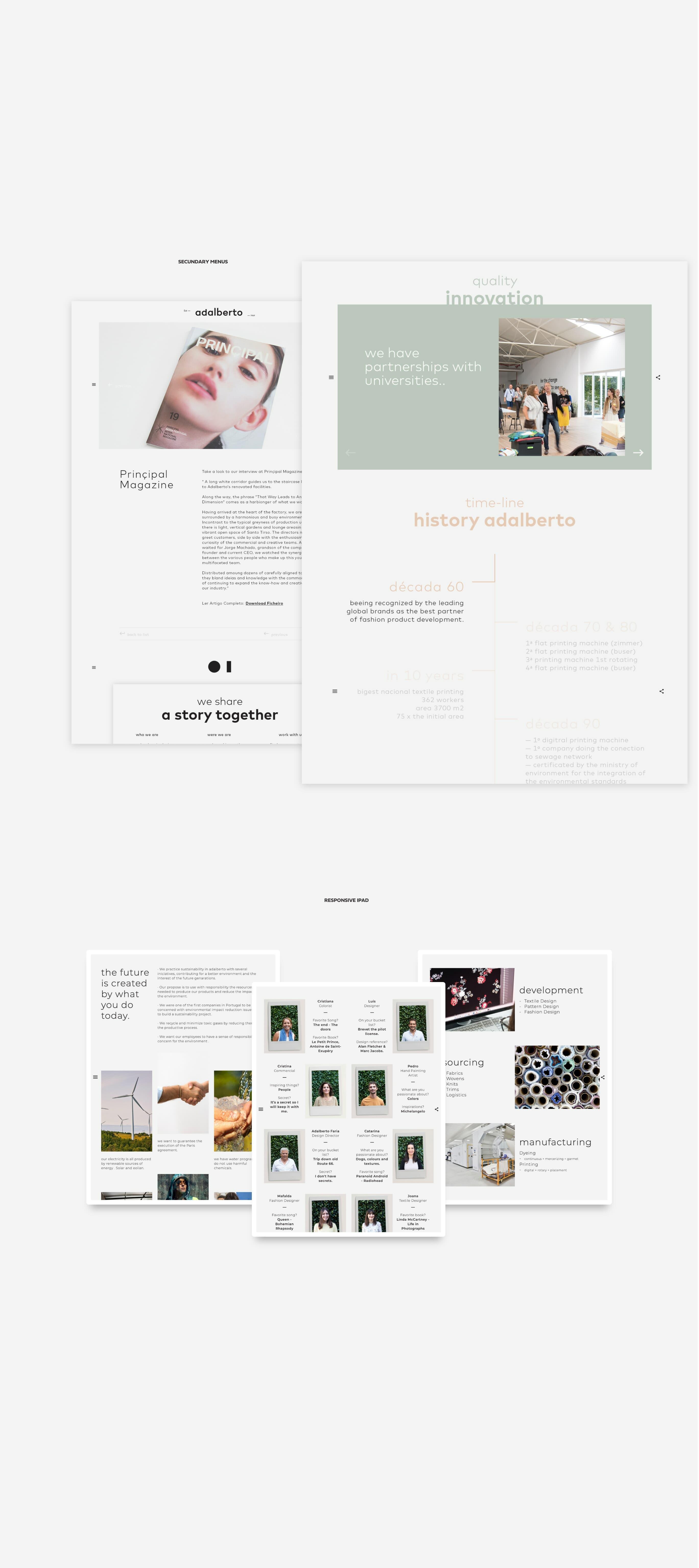 layouts para website